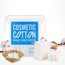 200 шт./упак. макияж maycreate уход за кожей органические хлопковые подушечки для лица очищающее масло три слоя для снятия макияжа хлопок