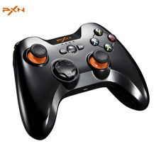PXN 9603 Handle Gamepad 2.4GHz Wireless Gmaing Controller Joystick Pro Gamer Pad for Android OS Smart TV PS3 with OTG Adapter(China)