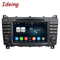 Idoing 2Din 4G 32G Steering Wheel For Mercedes Benz W203 Car DVD Player Android 8 0