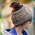 New Fashion 6 Color Warm Beanie 100% Acrylic women Fall And Winter Warm Hats Fashion Knitting Empty Hat Christmas Gift