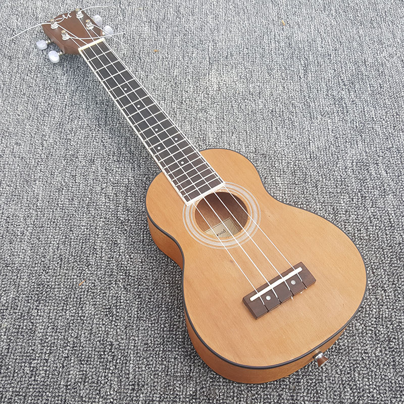High quality Ukelele guitar,Mahogany Hawaii Ukelele Stringed Musical Instruments,Real photos,free shipping! принтер hp laserjet enterprise 700 m712dn a3 cf236a
