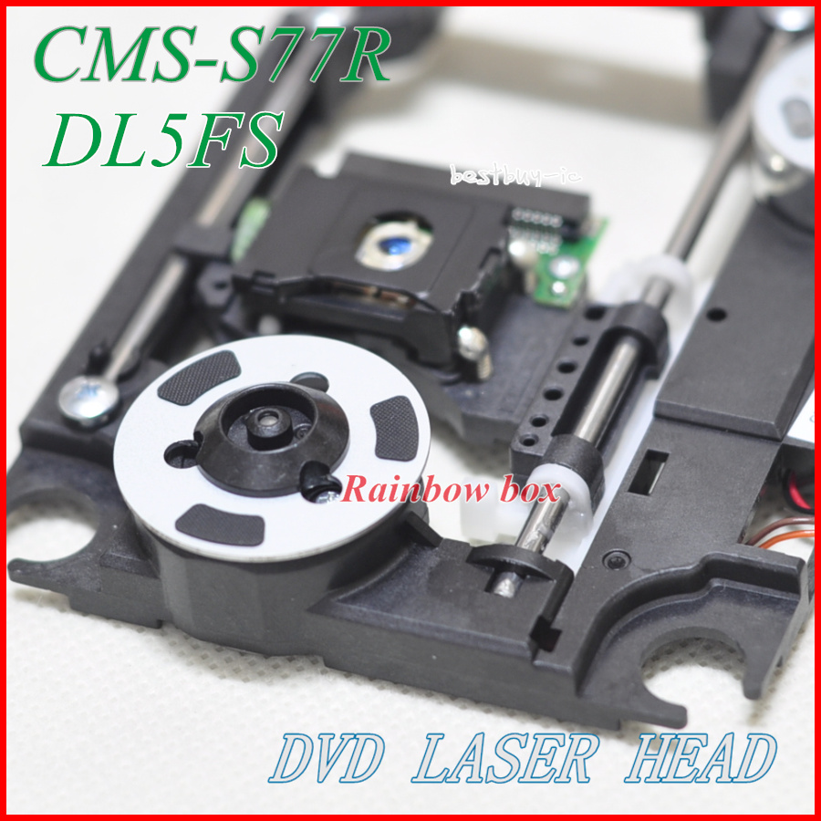 DVD Optical pick up CMS-S77R for DVD Laser head 23pin Lens SOH-DL5FS with plastic mechanism CMS S77R SOH DL5FS