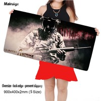 Mairuige Negozio Counter Strike Grande Gaming Mouse Pad Mousepad 22.5 'x9