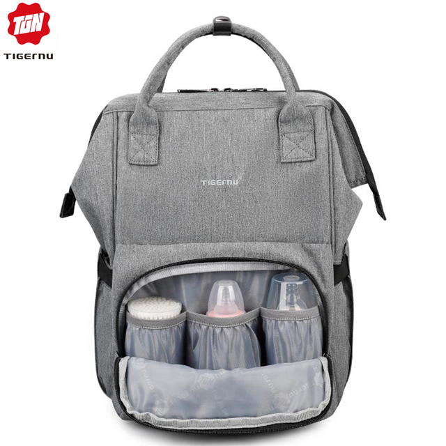 Tigernu Mommy diaper bag large capacity baby nappy bags nursing bag fashion  travel Women backpack bag 9caa77257d924