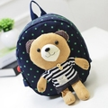 Teddy Bear Backpack 2015 New Cotton Kids Bagpack With Teddy Bear School Backpacks Children Cartoon Kids Bookbags Saco De Escola