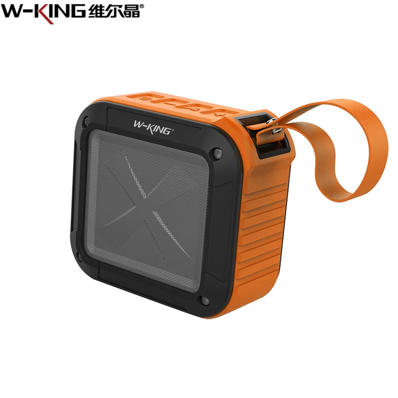W-King Bluetooth Speaker Portable Outdoor IPX-6 Waterproof Wireless For Smart Phones Tablets IPod Bluetooth Devices TF Card Aux