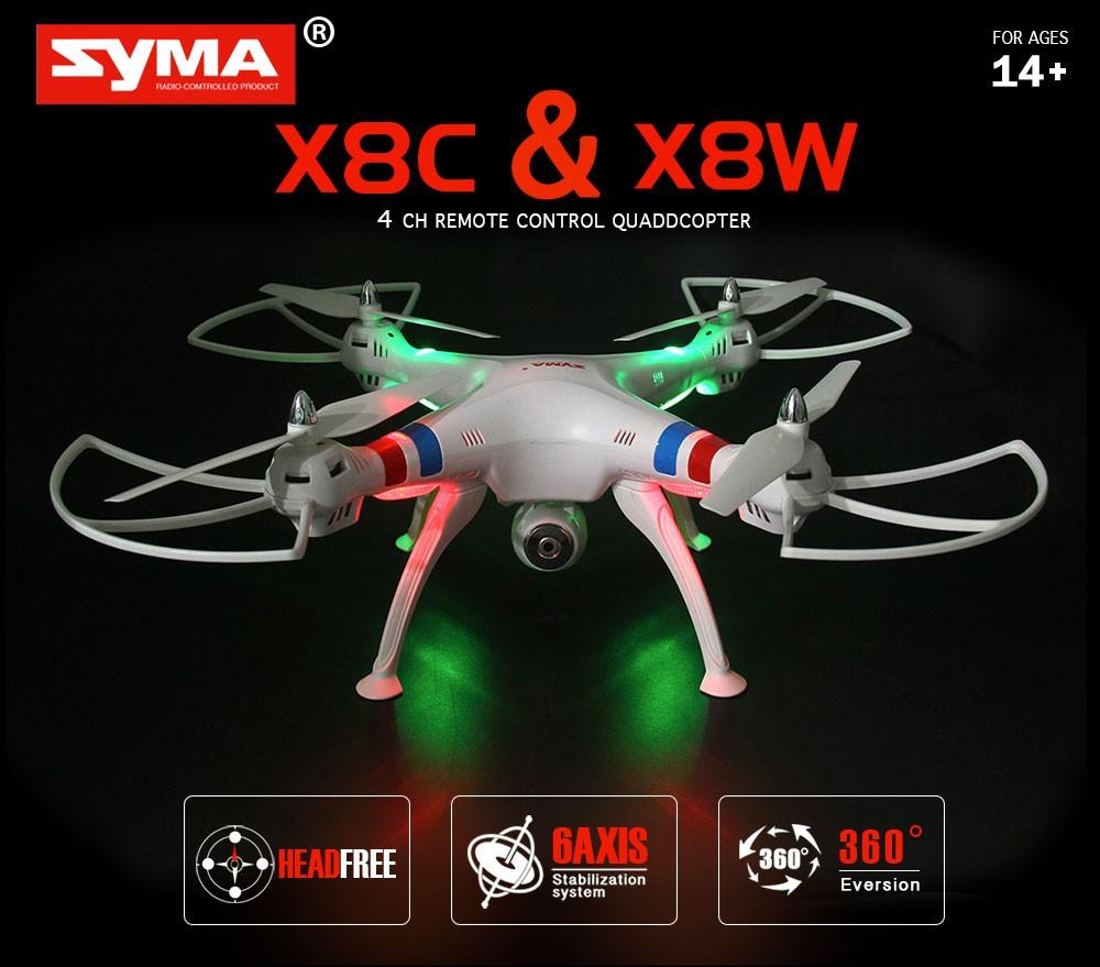 HTB1F584MXXXXXbVaXXXq6xXFXXXX - SYMA X8W WiFi fpv RC Quadcopter Профессиональный 2.4 г 6 оси SYMA X8C Радиоуправляемый Дрон с 2MP камера HD вертолет с VS SYMA X8HG