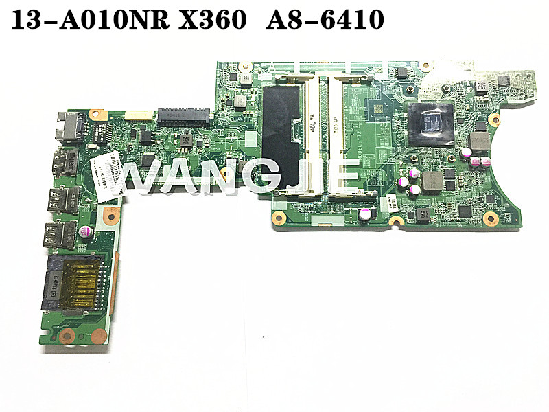 HP Pavilion 13-A x360 Convertible Motherboard AMD A8-6410 DA0Y72MB6C0
