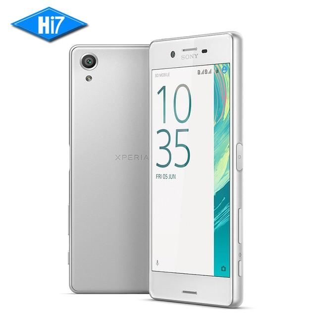 Новый оригинальный Sony Xperia X 4 ядра 64 ГБ Встроенная память 3 ГБ Оперативная память Snapdragon 650 23MP отпечатков пальцев NFC dual sim 4 г LTE 2620 мАч смартфон