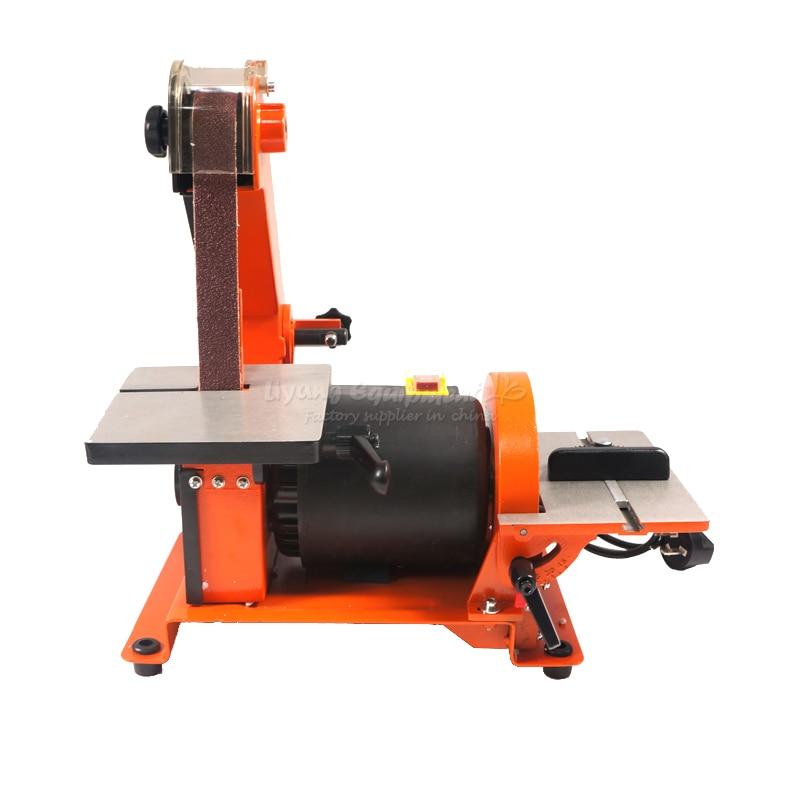 Belt Disc Sander 1 * 30 (25*750mm) Belt/ 5(125mm )Disc Sander rotary sander 5inch this fall 125mm pneumatic sander disc sandpaper machine bd 0142