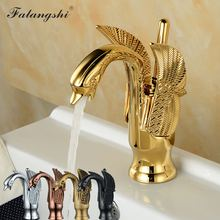 Bathroom Faucets Sink Mixer Cold And Hot Water Swan Style Single Handle Vanity Sink Mixer Crane Wash Basin Taps WB1025 free shipping high grade luxury animal swan style faucets bathroom basin mixer tap noble gorgeous swan sink hydrant promotion