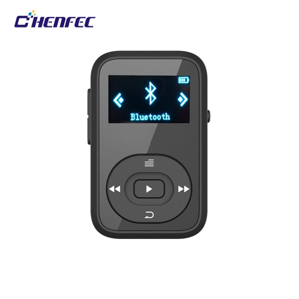 Original MP3 Player Walkman Clip Bluetooth 8GB Sport Lossless Music Player Recorder FM Radio Support TF Card X26