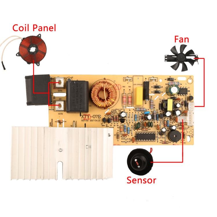 Индукционная плита зонд специальный термисторный датчик нагревательная катушка датчик температуры NTC