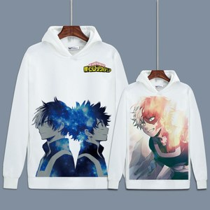 Image 5 - Hot My Hero Academia Cosplay Todoroki Shotoเสื้อBoku No Hero Academia Izuku MidoriyaขนแกะHoodiesสำหรับฤดูใบไม้ร่วง