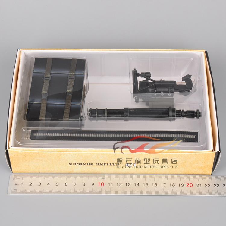1//6 Scale Gun Model Minigun TERMINATOR Gatling 8018 M134 Heavy Machine Gun Model