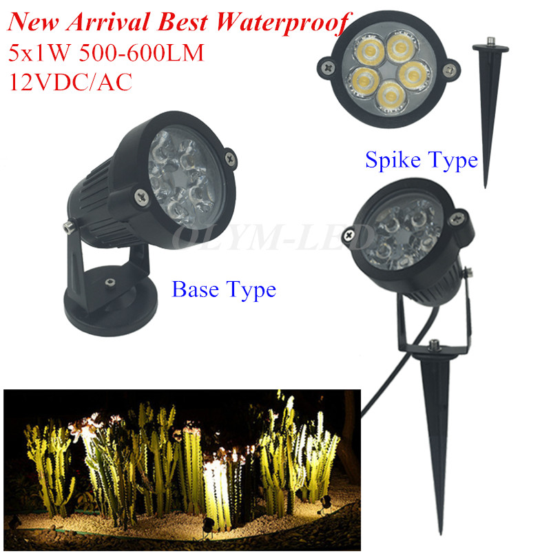 10X Super Bright 5W Outdoor Garden Lamp LED Spike Light 12V IP65 Waterproof  Warm White LED