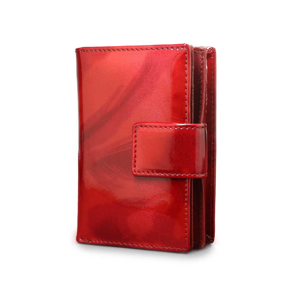 7e2f0cd76470 New Genuine Leather Wallet Women Passport Holder Coin Purse Female Mini  Passport Cover Women Money Bag handbags