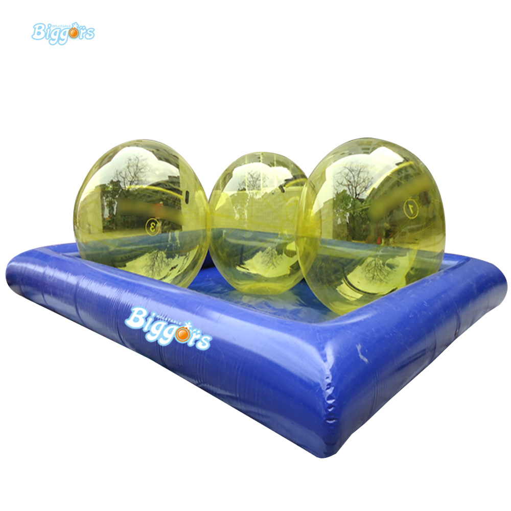 Sea Shipping Big Size Inflatable Kids Play Water Swimming Pools With Water Ball In Underwear