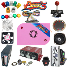 1300 in 1 Pandora Box 6 DIY Arcade game machine Kit With Power Supply Jamma Harness  Joystick LED Button coin acceptor купить недорого в Москве