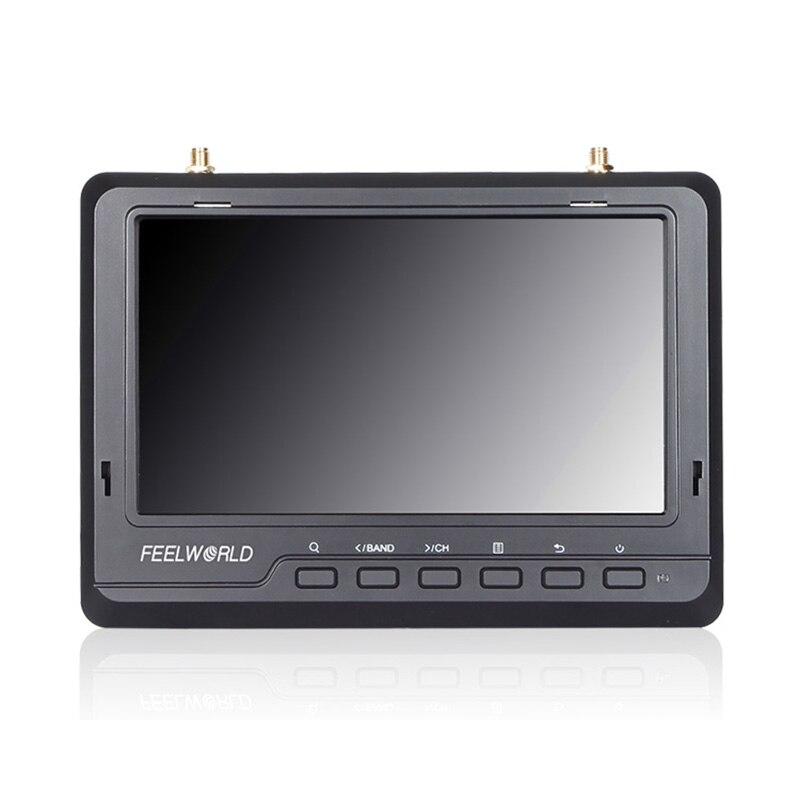 FPV720 7 Inch FPV Monitor Screen! 1024x600 IPS Screen Feelworld 7inch Wireless Drone Screen