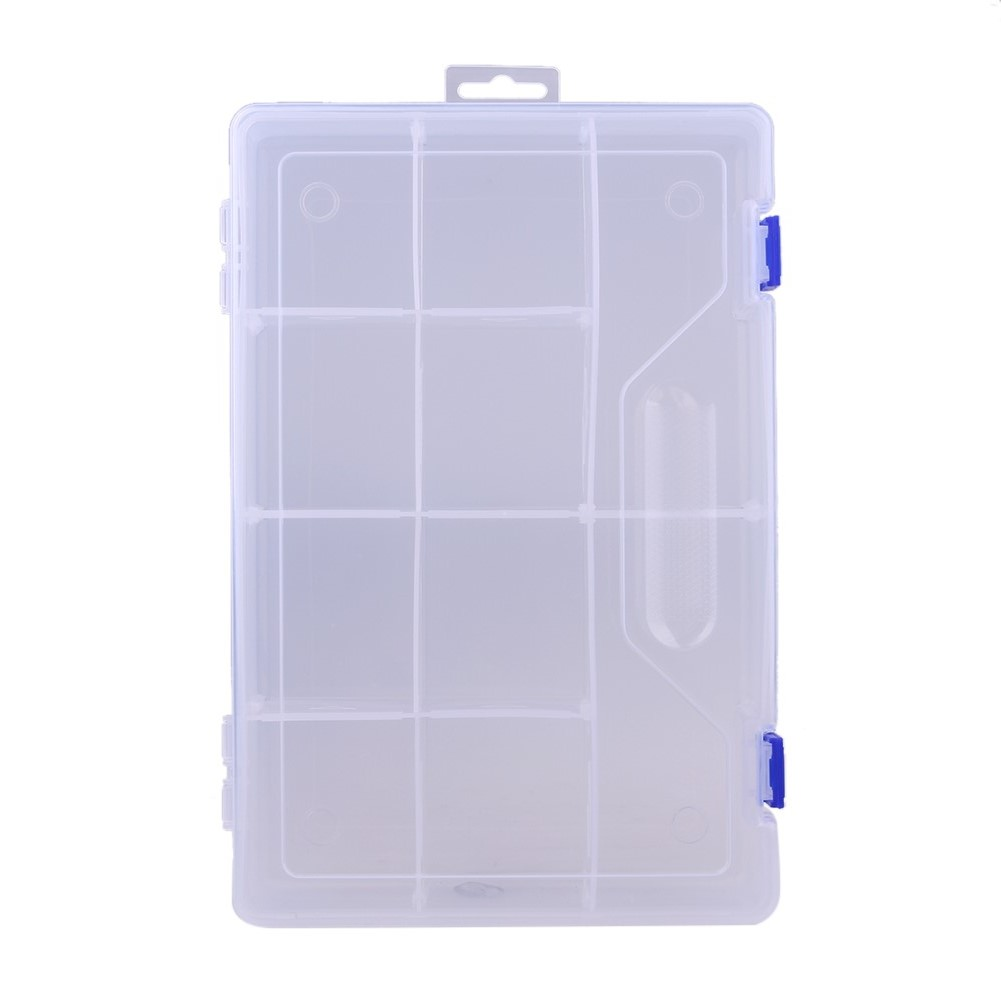 Cheap Wholesale 10 cells Plastic Slots Adjustable Jewelry Storage Box Case Craft Organizer Beads Container for Designer DIY Gift