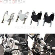 Руль мотоцикла с ЧПУ подъемный комплект 7/8 «или 1 1/8» Универсальный бар зажимы 28/22 мм для bmw, Suzuki Honda Yamaha ATV Скутер подъем 30 мм