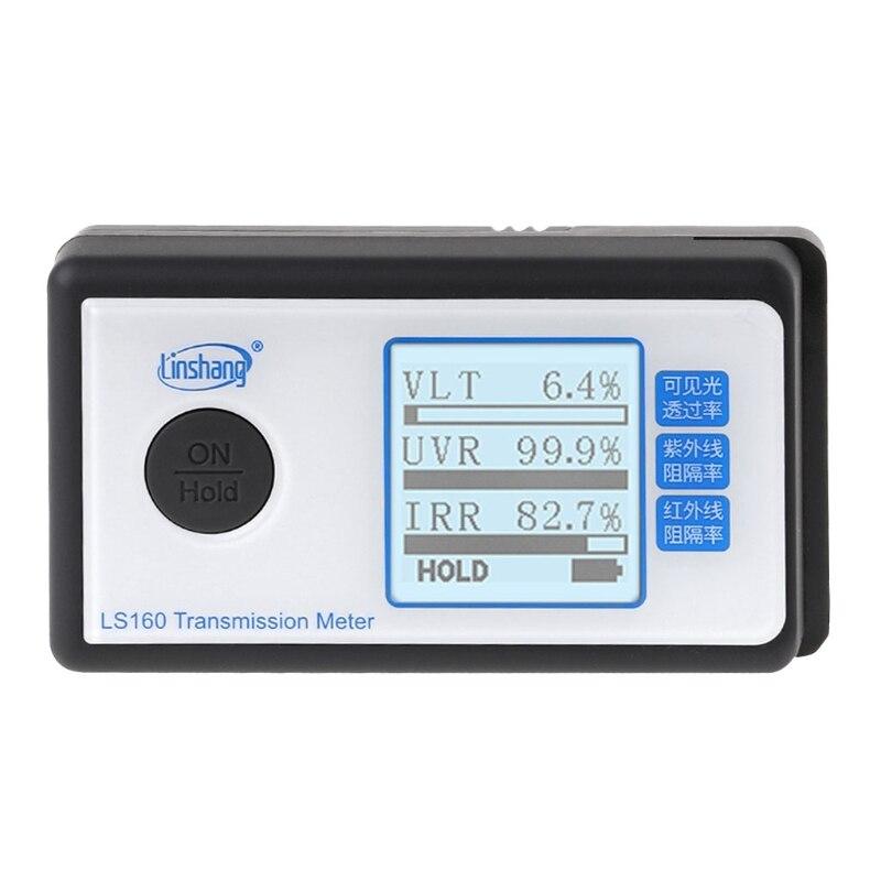 LS160 Portable solaire Film Transmission compteur Test fenêtre teinte UV IR rejet lumière visible transmittance