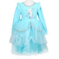 Baby Girls Sophia Ice Romance Princess Dresses Halloween Costume Halloween Show Costume Birthday Dresses Halloween Show dresses
