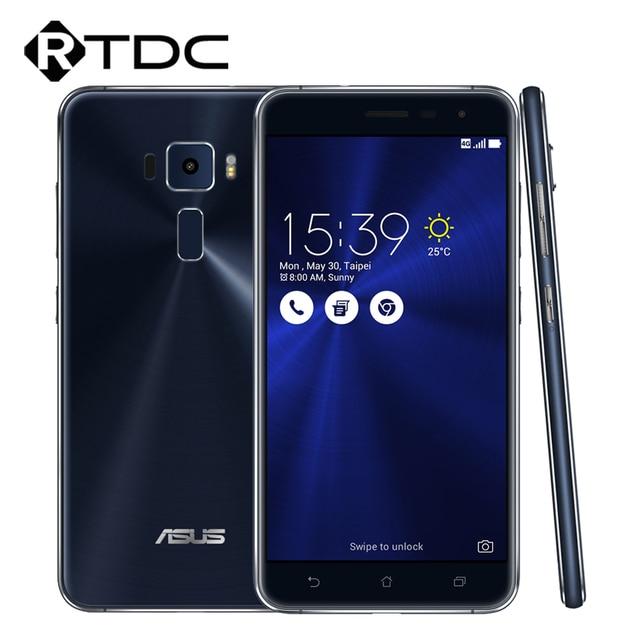 "Original ASUS Zenfone 3 ZE552KL Smart Phone 64Bit Octa Core Android 6.0 5.5""FHD 4GB RAM 64GB ROM 3000mAh 16.0MP Fingerprint"