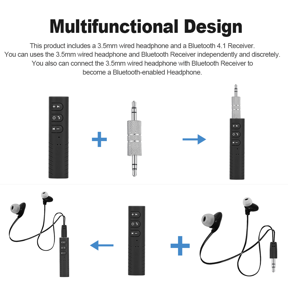 Buy 35mm Wired Earphone Bluetooth 41 Receiver Headphones Infrared Ir Circuit 1 We Accept Alipay West Union Tt All Major Credit Cards Are Accepted Through Secure Payment Processor Escrow