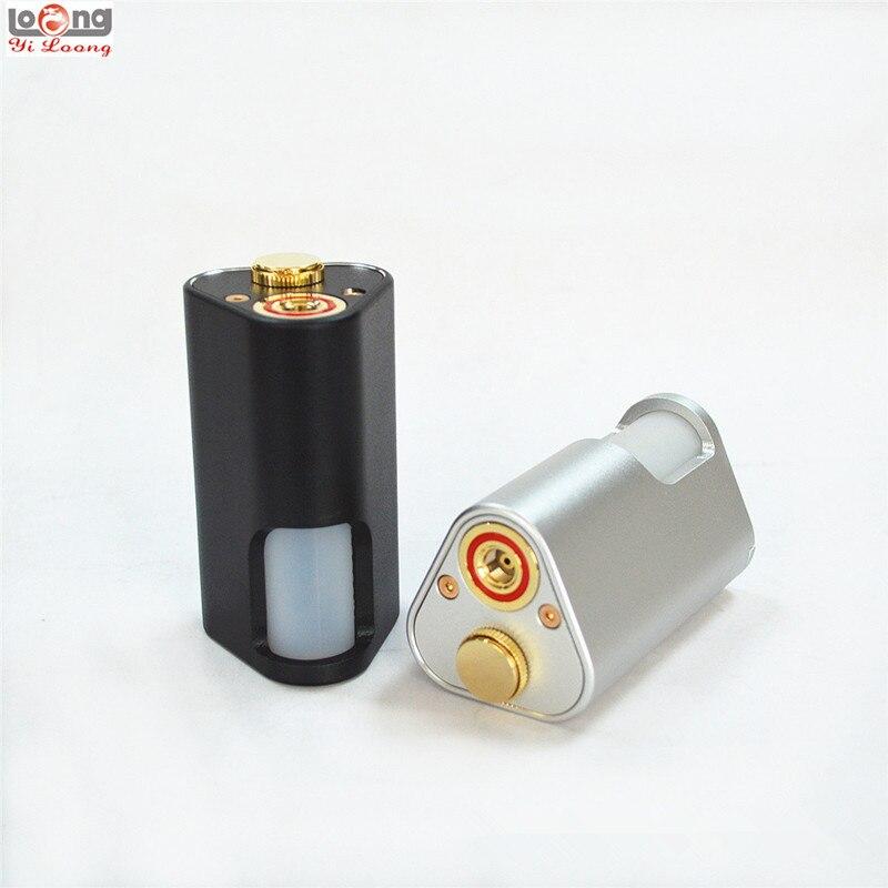 Date Yiloong Machete BF Squonker boîte Mod 10 ml bouteille réservoir d'huile double 18650 batterie 510 fil Squonking E-cigarette Mech Mods
