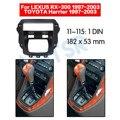 Радио Рамка для LEXUS RX-300 1997-2003 toyota harrier 1997-2003 установка автомобильный адаптер рамка