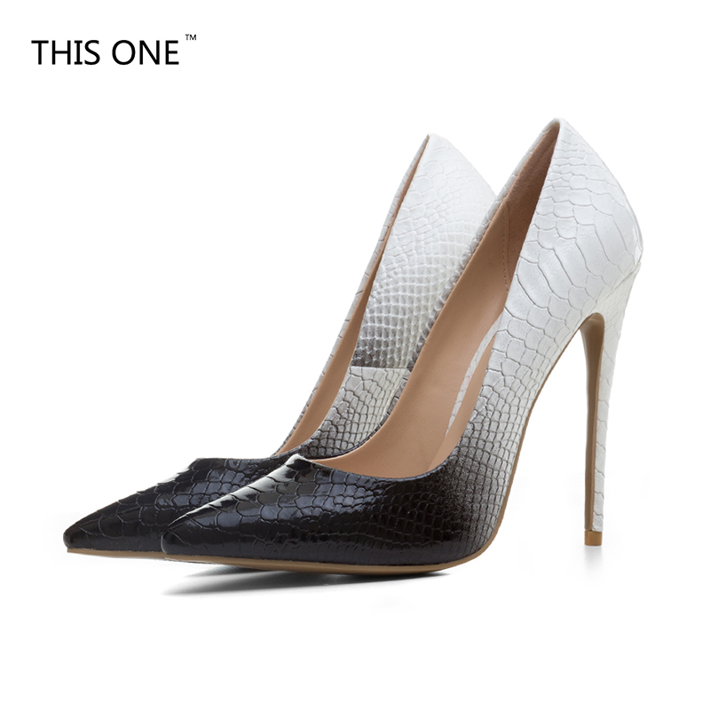 e2ed870fd29 Black Red Patent Leather Sole Bottom Thin High Heels Women Pumps Pointed  Toe Wedding Shoes Woman Stilettos Ladies Zapatos Mujer
