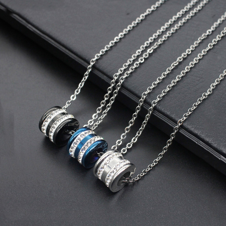 Necklace Fashion high-end new titanium steel necklace melon chain stainless steel chain men and women fashion necklace hot sale