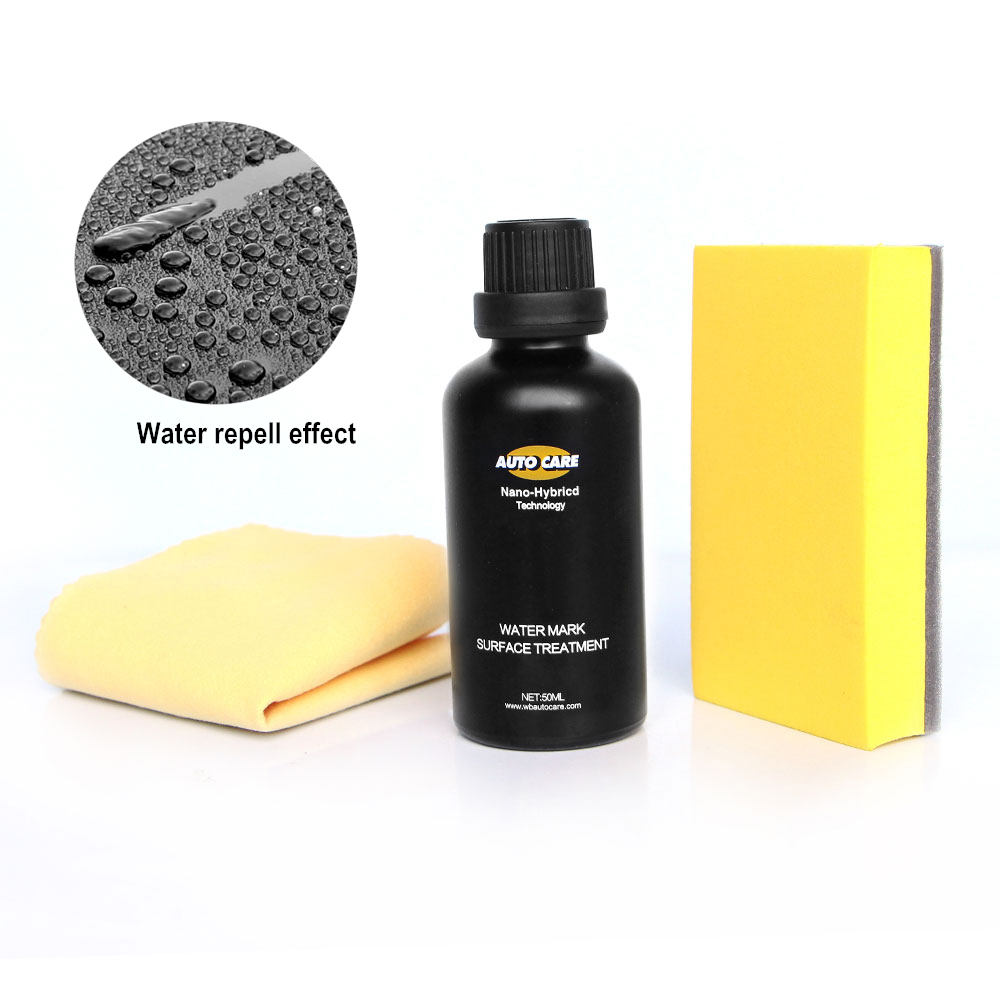 Rain&Water Repel Car Coating 50ml Nano Hydrophobic Paint Care Paint Protectant Nano Crystal Coating High Smoothness Ceramic