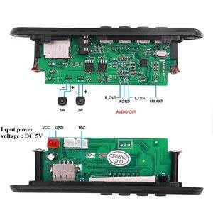 Image 4 - Mp3 плеер KEBIDU с Bluetooth, 5 в, декодер, плата, цветной экран для автомобильного комплекта, FM радио, TF, USB, 3,5 мм, AUX, аудио модуль, запись, громкая связь