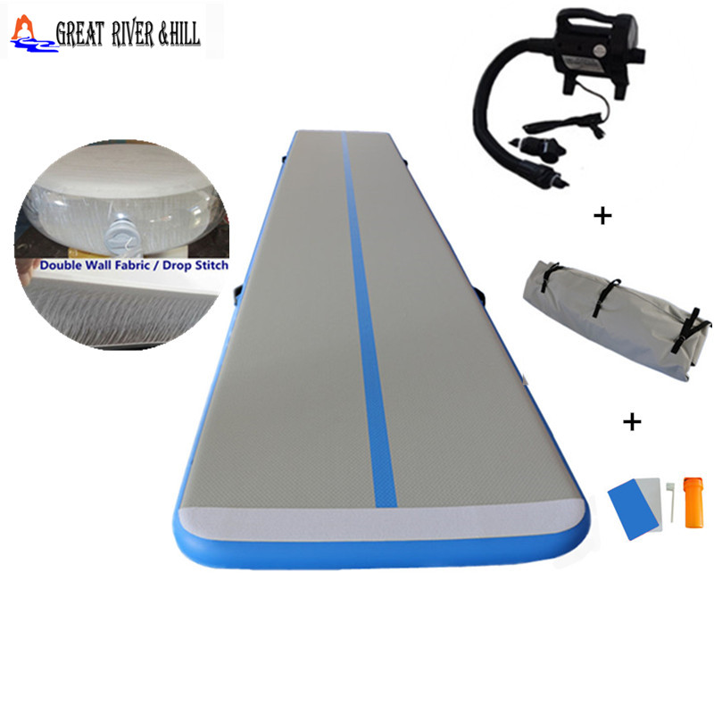 great river hill inflatable air track gymnastics mat 6mx1mx0.1mgreat river hill inflatable air track gymnastics mat 6mx1mx0.1m