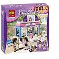 Бела 10156 Друзья Бабочка Салон Красоты Строительный Блок Устанавливает девушки Игрушки Кирпичи 10156 Игрушки Совместимы с Legoe