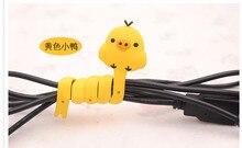5pcs/lot  cartoon romagny buckle bobbin winder kawaii earphone organizer cable tidy Cable Winder free shipping