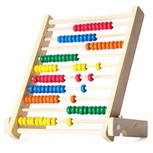 Neo Colorful 10-Row Bead Wooden Abacus Child Educationnal Calculate Math Learning Teaching Tool Gorgeous Toy for boys and girls