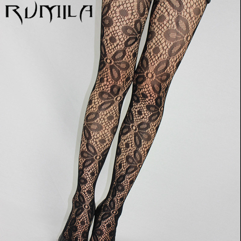 Fashion Womens Lady Girls Black Sexy Fishnet Pattern Jacquard Stockings Pantyhose Tights  Skull Woman 1pcs Dww42