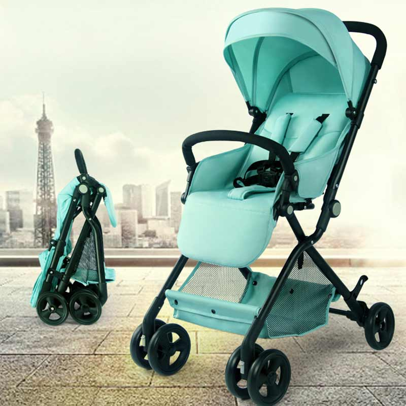 New children's Baby stroller bed Kids Car trolley Folding Carriage Bed BeBe Stroller Buggy