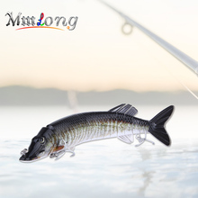 Mmlong 30.5cm Artificial Fish Lures Jointed Bait Wobblers AL15B 13 Segments Swimbait Hook Slow Sinking Hard Lure Fishing Tackle
