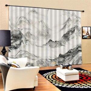 Image 5 - Rideaux de ville modernes avec perles, rideaux de luxe en 3D, pour salon, chambre à coucher, mariage, taille personnalisée, Oc26