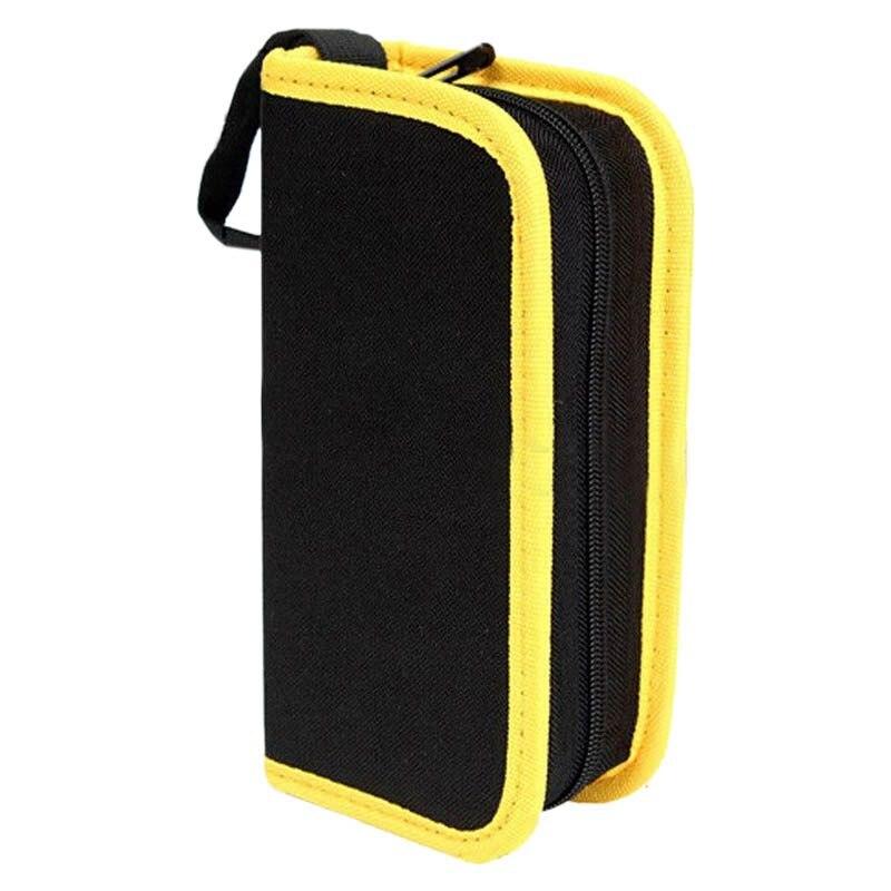 Hardware Toolkit Storage Tools Carrier Bag Oxford Fabric Handy Pouch Handbag Zip, 21*10.5*5.5Cm