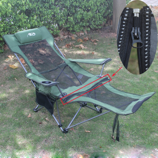Genial Detachable Folding Reclining Chair Portable Beach Chair Outdoor Fishing  Chairs