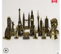 40 шт. комплекты 40 различных стилей предметы мебели Париж Эйфелева башня модель Эйфелева башня бытовой вино творческие украшения GIF