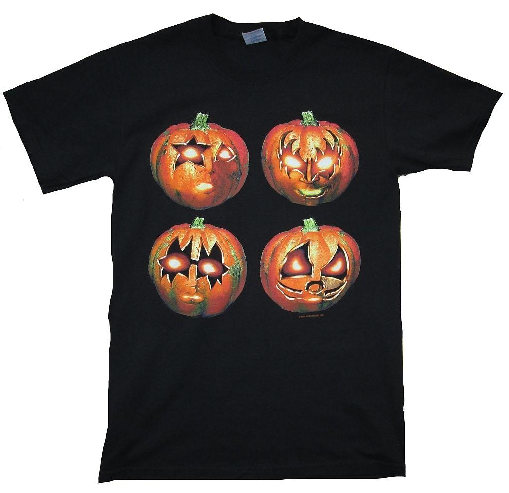 RARE Official Merchandise Jackolantern Helloween Rock Star T-Shirt Novelty Cool Tops Men Short Sleeve T Shirt Top Tee