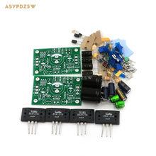 Atom BR Version PNP Sanken 2SA1216-JLH1969 Single-ended Class A power amplifier DIY kit (2-channel)