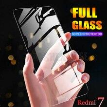 2 ชิ้น/ล็อตกระจกนิรภัยสำหรับ Xiaomi Redmi 7 7A ป้องกันหน้าจอแก้วป้องกัน Blu Ray Glass สำหรับ Xiaomi Redmi 7 แก้วป้องกันฟิล์ม